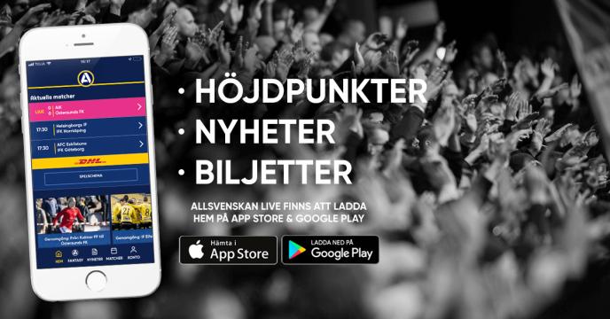 Allsvenskan Live App Allsvenskan