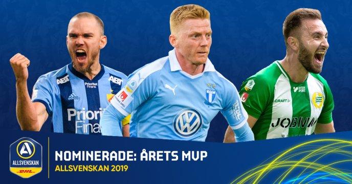 De Nominerade Till Allsvenskans Stora Pris 2019 Allsvenskan